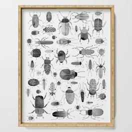 Ink Beetles Serving Tray