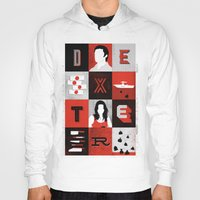 dexter Hoodies featuring Dexter by Bill Pyle