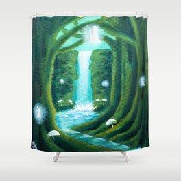 Paradise Gully Shower Curtain