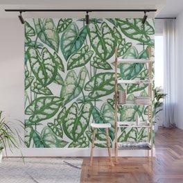 Green tropical leaves IV Wall Mural