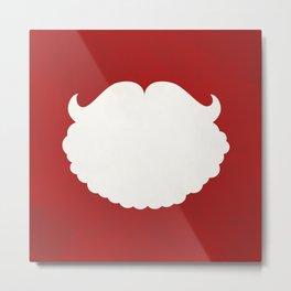 Santa Claus Beard Metal Print
