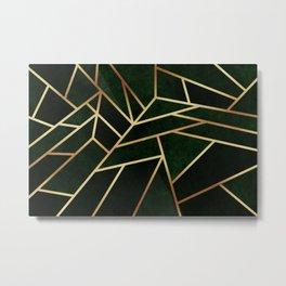 Dark Emerald Metal Print