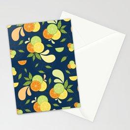 Citrus Splash Stationery Cards