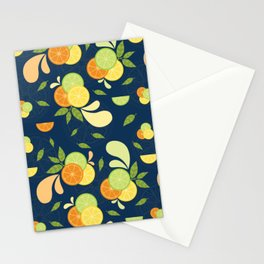 Citrus Splash Stationery Cards