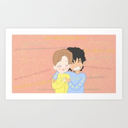 Vmin Friends Art Print