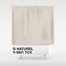 au naturel Shower Curtain