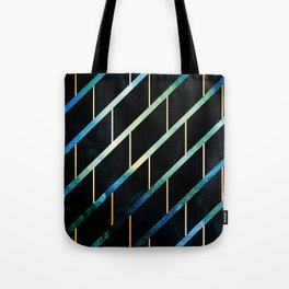 Slated for Storms Tote Bag