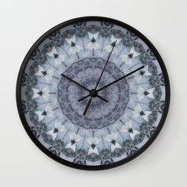 Marble kaleidoscope , mandala Wall Clock