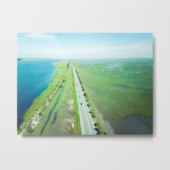 Beach Road Metal Print