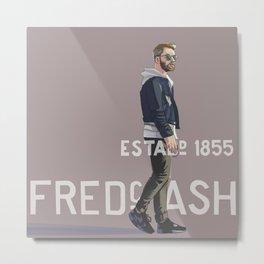 Fred Ash Metal Print