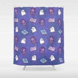 Nene's Bedtime Stories Doll Shower Curtain