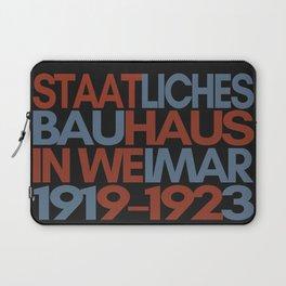 Bauhaus Poster Laptop Sleeve