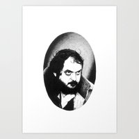 kubrick Art Prints featuring Stanley Kubrick by Daniel Point