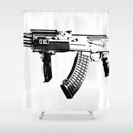 AK-47 Shower Curtain