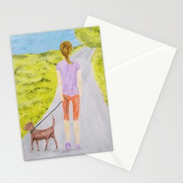 Walking Norman Stationery Cards