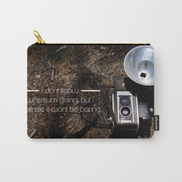 Not boring! Carry-All Pouch