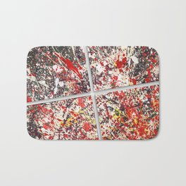 Trezzo - Splatter painting Bath Mat