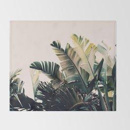 Paradise #4 Throw Blanket
