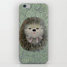 Cute Baby Hedgehog iPhone Skin