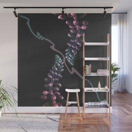 Indigo Plant Apparatus Wall Mural