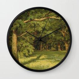 "Ivan Shishkin ""The Forest Clearing"" Wall Clock"