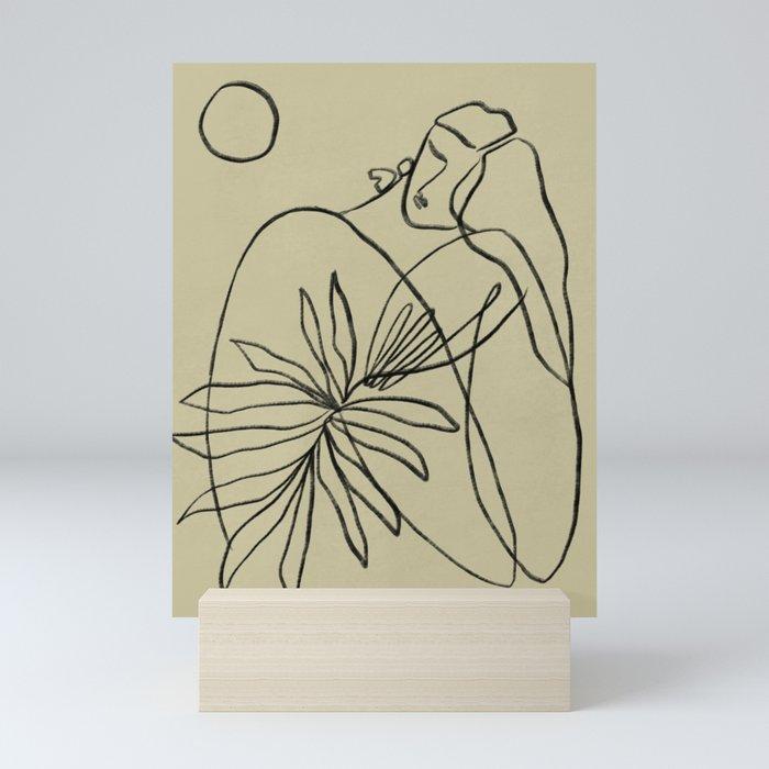 Summer lines V|| Mini Art Print