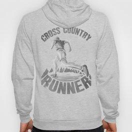Running Addict Cross Country Runner Hoody