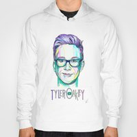 tyler spangler Hoodies featuring Tyler Oakley  by Stephanie Shaw