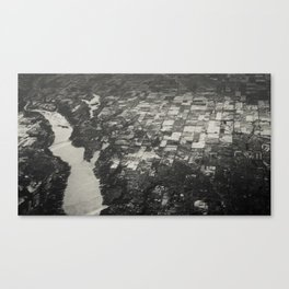 river from above Canvas Print