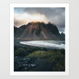 Stokksnes Iceland Art Print