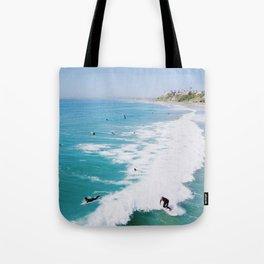 San Clemente Surf Tote Bag
