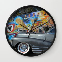 Fleetline en Aztlan Wall Clock