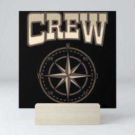 SAILING CREW VINTAGE SAILING CREW Gift Sailor Mini Art Print