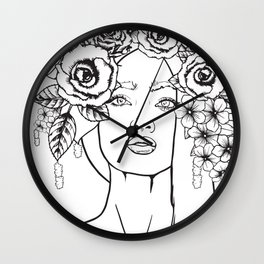 Rose to the Occasion Wall Clock