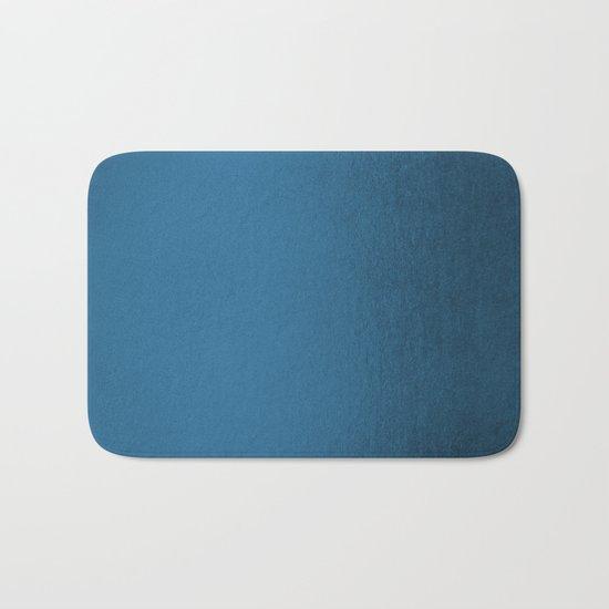 Saltwater Taffy Teal Shimmer Bath Mat