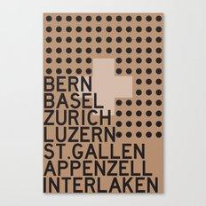 Gruezi//B Canvas Print
