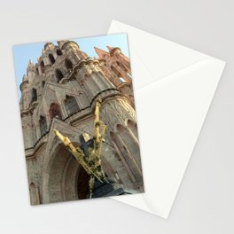 Church of San MIguel de allende II Stationery Cards