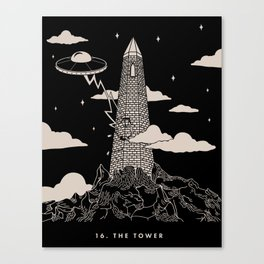 16. The Tower Canvas Print