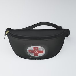 Night Shift Nurse Life Graduating Moon Fanny Pack