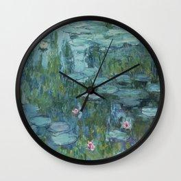 Nymphéas, Claude Monet Wall Clock
