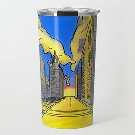 Sunrise City Travel Mug