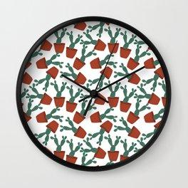 Cactus No. 1 Wall Clock