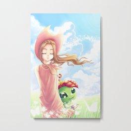 Digimon Dream Mimi Metal Print