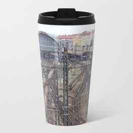 Prague Train Station Travel Mug