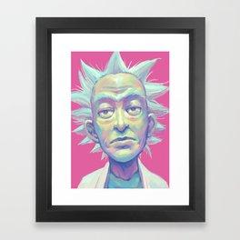 Rick Sanchez Framed Art Print