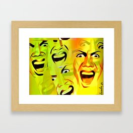 Hysterical amnesia Framed Art Print