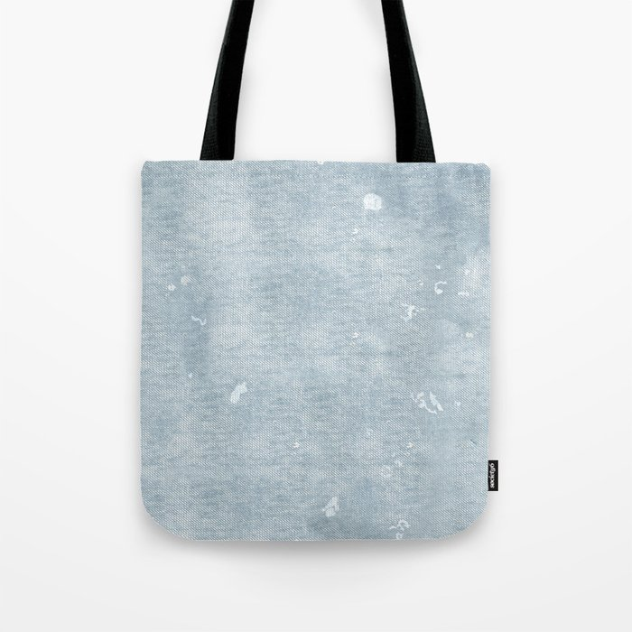 clearance 2019 best sell shop for genuine distressed chambray denim Tote Bag by freewheeler