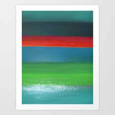 Colors I Art Print