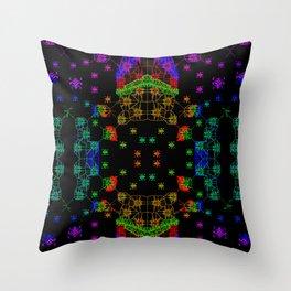 Colorandblack series 749 Throw Pillow