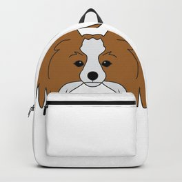 Papillon Dog #society6 #decor #buyart #artprint Backpack
